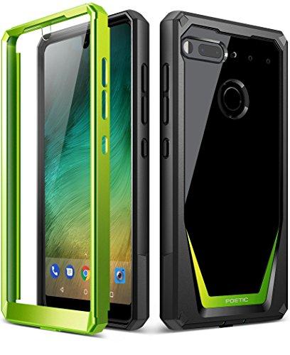 Essential Phone PH-1 ケース、ポエティック・ガーディアン、Essential Phone PH-1ケース [傷がつかない360度プロテクション]フルボディー・クリアカバー、耐久性の強いハイブリッドケース、用保護スクリーン内臓