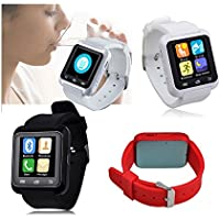 itontek ® u8 u80 Plus BluetoothスマートウォッチSportswatch歩数計forスマートフォンiOS Apple iPhone Android Samsung s3 / s4 / s5 / s6 NOTE 2 / Note 3 / Note 4 HTC Sony [アップグレードのu8 ]