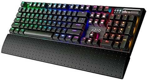 Azio RGB Backlit Mechanical Gaming Keyboard (MGK1-RGB) [並行輸入品]