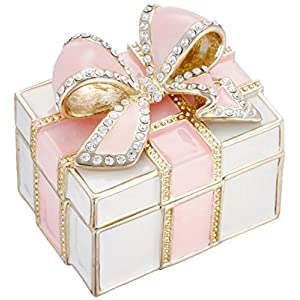 [ピィアース] PIEARTH ジュエリーボックス メモリアルプレゼントボックス(ピンク) EX572-1