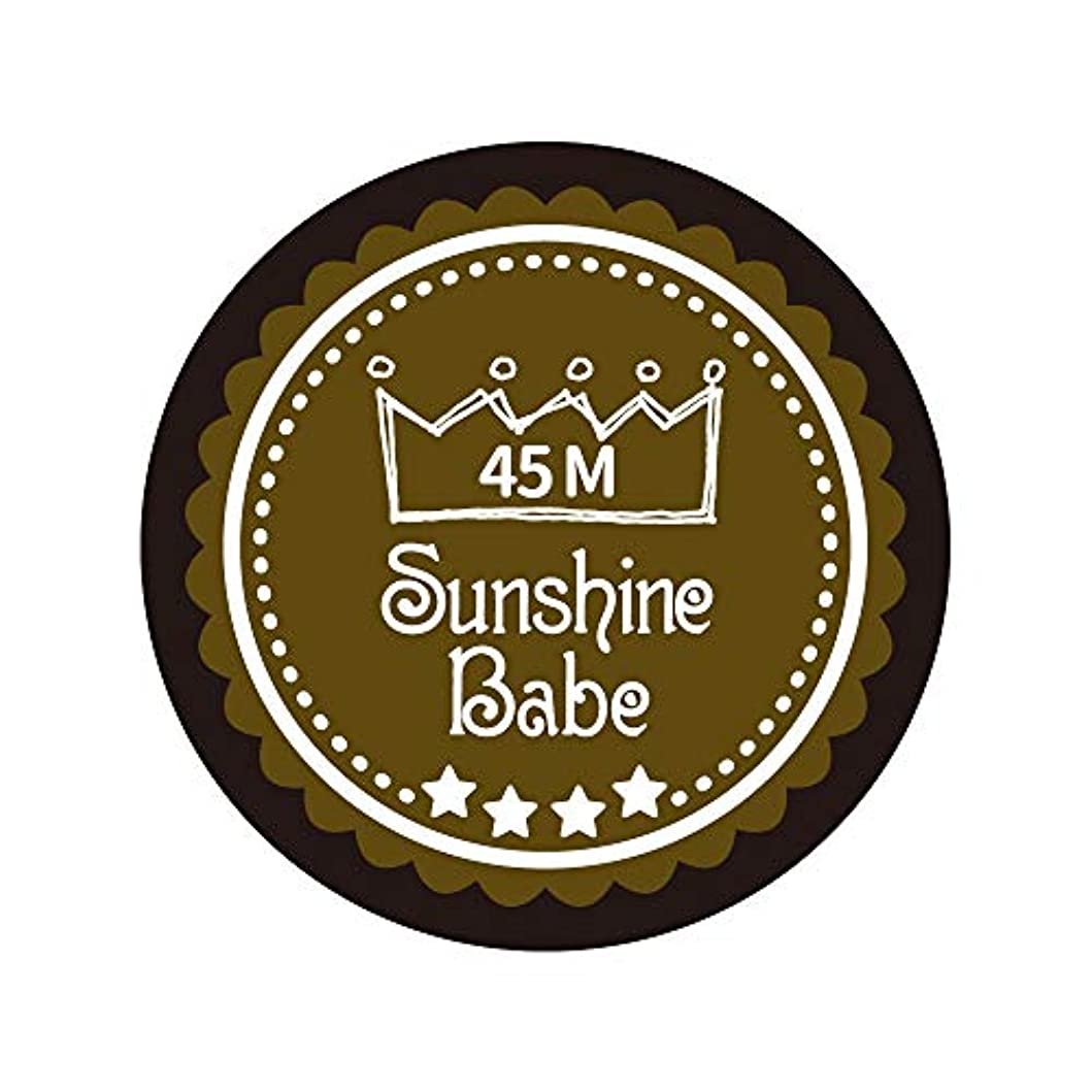 むさぼり食う啓示パスタSunshine Babe カラージェル 45M マティーニオリーブ 2.7g UV/LED対応