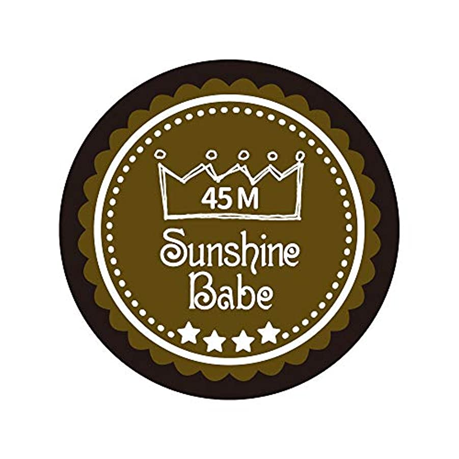 友だち経由でペンダントSunshine Babe カラージェル 45M マティーニオリーブ 4g UV/LED対応