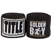 Golden Boy EliteストレッチHand Wraps、ブラック