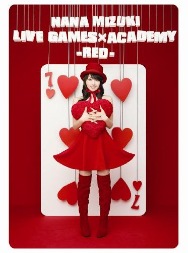 NANA MIZUKI LIVE GAMES×ACADEMY-RED- [DVD] 水樹奈々 水樹奈々 キングレコード