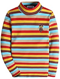 3d0473d908b87 KID1234長袖tシャツ キッズ ボーイズ ティーシャツ ロング男の子供服 カットソー ...