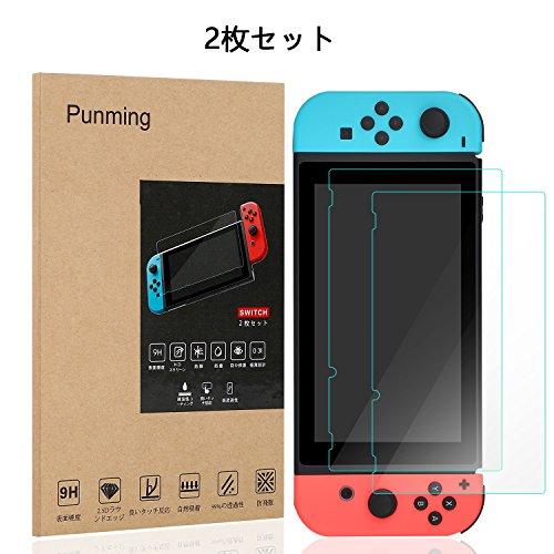 Nintendo Switch 保護フィルム  Punmin...