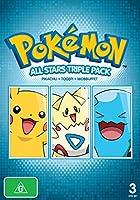 Dvd - Pokemon Allstars, Triple Pack (3 DVD)