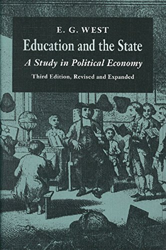 Download Education and the State: A Study in Political Economy 0865971358