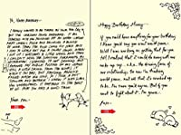 Quiplip Handwritten Yours Truly Birthday Cards 6-Pack (YT04096PCK) [並行輸入品]