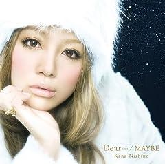 西野カナ「Dear…」のCDジャケット