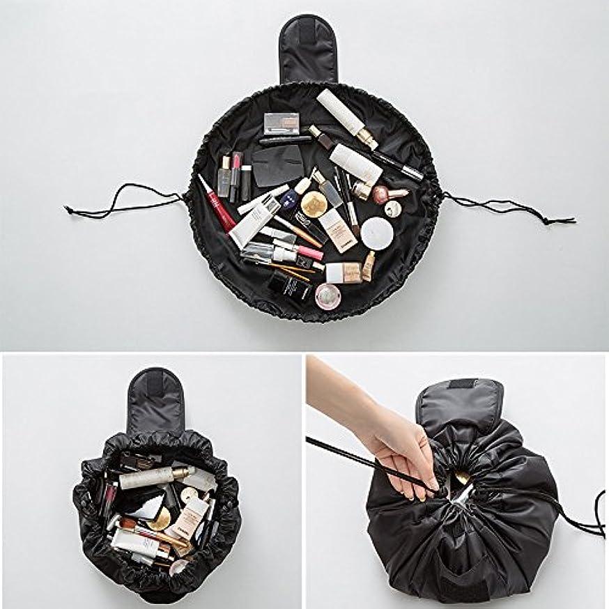 ファシズムラッドヤードキップリング地域の旅行メイクバッグ YOKINO 旅行化粧バッグ メイク収納バッグ 化粧ポーチ 大容量 巾着 マジックふろしきポーチ 風