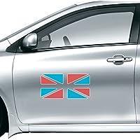 英国のイギリスフラグレトロスタイル水彩車ステッカーの車スタイリングデカール車のオートバイのステッカーアクセサリー 50cm share00067314f3185-50cm