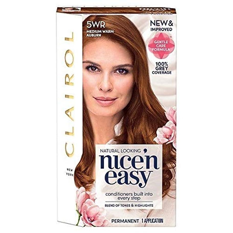 ぺディカブ理論馬鹿げた[Nice'n Easy] Nice'N簡単5Wrメディア暖かい赤褐色 - Nice'n Easy 5Wr Medium Warm Auburn [並行輸入品]