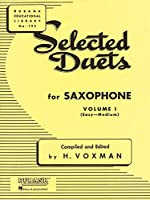 Selected Duets for Saxophone: Easy- Medium (Rubank Educational Library)