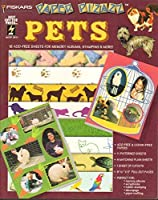 Fiskars Paper Pizazz: Pets : 16 Acid-Free Sheets for Memory Albums, Stamping & More