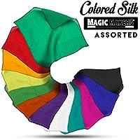 [マジック メーカー]Magic Makers 6 Inch Colored Silks Professional Grade 911 [並行輸入品]
