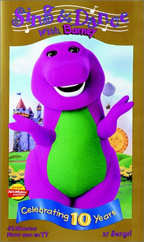Barney - Sing & Dance With Barney [VHS] [Import]