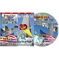 CD-ROM New York City 3-D (Three dimensions) by n/a