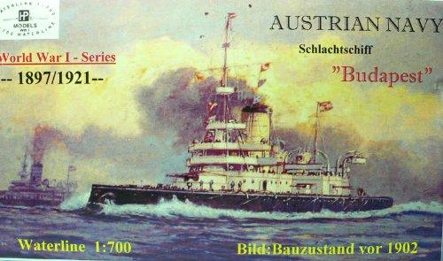 1/700 オーストリア海軍海防戦艦 ブダペスト
