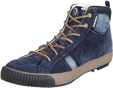 [ディーゼル] DIESEL CONTEMPO WIL - sneaker mid Y00806P0211 P0211T6059 (インディゴブルー/44)