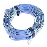 Anself CAT6 有線 LANケーブル 30m ブルー