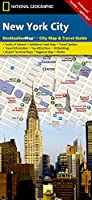 National Geographic Destination City Map New York City