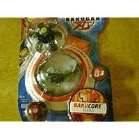 Bakugan Bakucoreスターターパック(ブラック冷凍庫、グレー突撃砲、レッドMysteryボール)