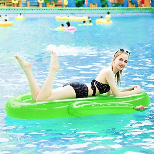 [해외]Dolland 튜브 선인장 형 에어 소파 더위 대책 휴식 풀 바다 · 강 수영 용품 물놀이 맹활약 180 * 150 * 20cm 그린/Dolland floating rings Cactus type air sofa Heat countermeasures Swimming Pool · Sea · River Swimming Supplies Great for ...