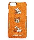 [アコモデ] [Disney] ディズニー スパークデコ iPhoneケース ミッキーマウス ミニーマウス グーフィー 刺繍 iPhone8/7/6s/6対応 D-ST126 OR オレンジ