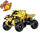 Biozea ブロックおもちゃ ビルディングブロック 402ピース トラック積み木 立体パズル 学習玩具 想像力創造力を育てるモデル 赤ちゃん 子供 男の子 女の子 贈り物 誕生日プレゼント 出産祝い 入園祝い (402pcs)