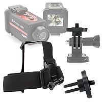 DURAGADGET Crocolisカメラアクションカメラヘルメットマウント–滑り止め交換用ヘッド/ヘルメットストラップマウントfor新しいCrocolis HD Extremeスポーツアクションカム