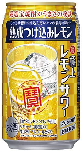 極上レモンサワー 熟成つけ込みレモン 350ml×24本