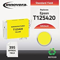 Innovera 25420 25420互換Reman t125420 (t-125 ) インク、395 page-yield、イエロー