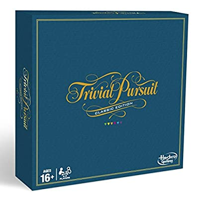Trivial Pursuit Classic Edition - Adult Board Game