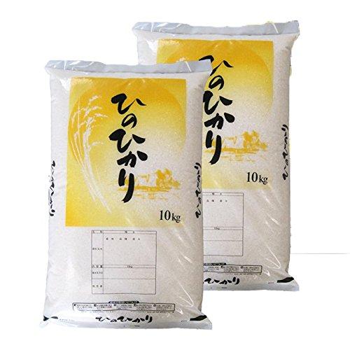 米 ヒノヒカリ 20kg (〇白米18kg(9kg×2)) 山梨県中央産 【川合益男】30年産 送料無料