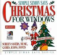 Simple Simon Says Christmas For Windows : Screen Savers, Music, Games, Icons, Fonts, Etc. (輸入版)