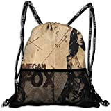 カジュアルビームバックパックサイズ 幅42cm高さ47cm 俳優Megan Fox タウンリュック、レディース、メンズ、カジュアルな人気のバックパック