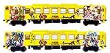 トミーテック ジオコレ 鉄道コレクション 鉄コレ JRキハ125 ロマンシング佐賀 ラッピング 2両セット ジオラマ用品