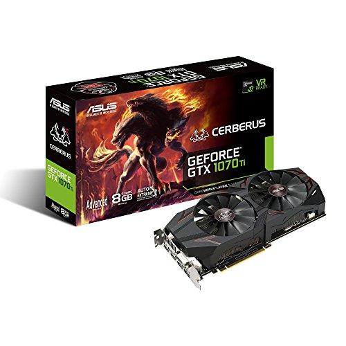 ASUS Nvidia GTX1070TI 搭載ビデオカード CERBERUS-GTX1070TI-A8G B077XFDLQ1 1枚目