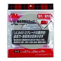 3M VHB 構造用接合テープ 難燃性 Y-4545-07 25X10
