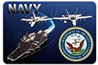 """Navy Aircraft Carrierデカール6"""" in the United States。"""