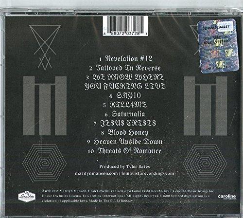 HEAVEN UPSIDE DOWN [CD]