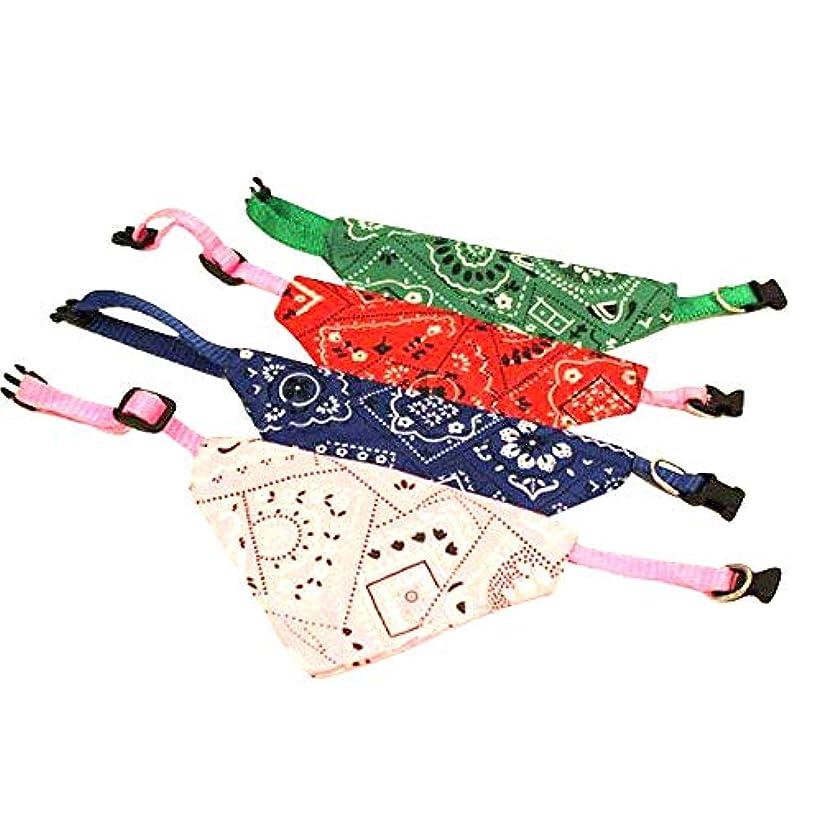 用量ミンチ変更可能カッコかわいいワンちゃんに スカーフ付き首輪 犬猫対応 首輪 ハーネス 赤