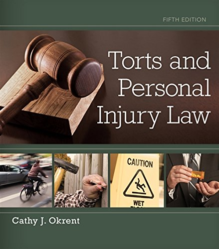 Download Torts and Personal Injury Law 1133691854