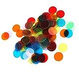 【ノーブランド品】ビンゴゲーム用 チップ PROカウントビンゴチップス 直径3cm 6色 120枚