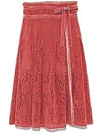 [リリーブラウン] フロッキーラップ風スカートパンツ LWFP184061 LWFP184061 レディース