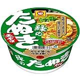 マルちゃん 緑のたぬき天そば (北海道) 101g×12個