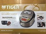 【海外向け】 TIGER IH炊飯器 W銅5層遠赤特厚釜 [JKT-W10W] 1.0L(5.5CUP) 220V仕様