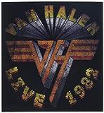 """VAN HALEN LIVE 82, Officially Licensed Original Artwork, 4"""" x 4.25"""" - Sticker DECAL"""