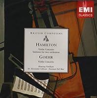 Hamilton/Goehr: Violin Concs